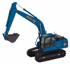 NZG 1/50 Komatsu PC210-8 LC excavator Alder Ag Logo  #804-06