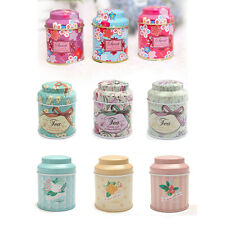 Lovely Mini Metal Square Tin Box Jewelry Candy Coin Tea Storage Case Can Jar Box