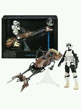 "Star Wars The Black Series Speeder Bike Biker Scout 6"" Figure UK STOCK original"