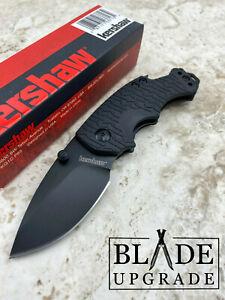 Kershaw Shuffle Black Linerlock Stainless GRN Handle EDC Folding Knife 8700BLK