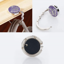 Women/'s Folding Handbag Bag Table Hook Hanger Holder Accessory Weding UK