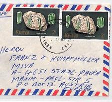 CA237 1982 Kenia * Langas * Esqueleto MATASELLOS Aire Cubierta misionero vehículos
