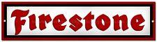 FIRESTONE METAL SIGN,RETRO,GARAGE METAL SIGN,WORKSHOP SIGN.MAN CAVE SIGN