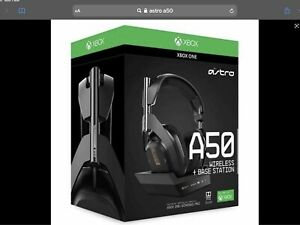 ASTRO  A50 WIRELESS HEADSET   BASE STATION