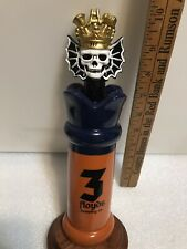Three Floyds Zimmer draft beer keg tap handle. Indiana. Closed Brewery