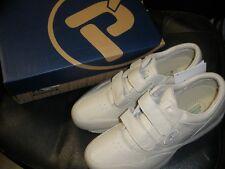 NEW Propet M3705 Life Walker Shoe Sneaker WHITE size 10 X(3E)
