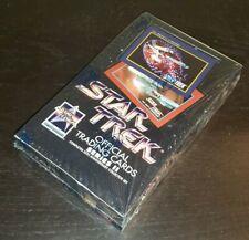1991 Impel Star Trek Trading Cards Series 2 Factory Sealed Box - 36 Packs