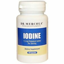 DR. MERCOLA PREMIUM SUPPLEMENTS IODINE POTASSIUM BODY SUPPORT HEALTH CAPSULE