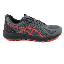 Asics Frequent Trail Mens Carbon Red Alert Running Shoes 1011A134-021 Size 11 D