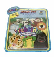 Webkinz Mouse Pad Feature Code Enclosed Panda Monkey Hippo Tiger Frog Sealed