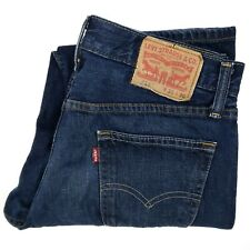 Levis 514 Jeans 30x30 Blue Dark Wash Classic Straight Fit Leg Mens Size Denim Sz