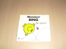 "Monsieur BING  Roger Hargreaves Collection ""Bonhomme"""