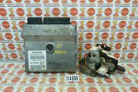 09 10 TOYOTA MATRIX 1.8L A/T ENGINE COMPUTER MODULE ECU ECM 89661-02L72 OEM