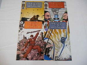 Medal Of Honor #1-4, (Dark Horse), 7.0 FN/VF to 8.0 VF