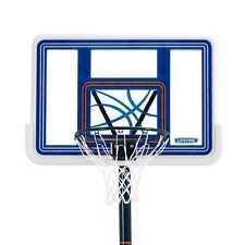 "44"" Lifetime Acrylic Pool Side Portable Height Adjustable Basketball System."