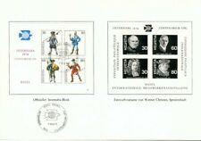 Swiss RARE s 'Sheet FOLDER internaba 1974 UPU BLOCCO BASEL
