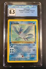 Articuno 17/62 1st Edition French Non-Holo Rare Pokemon CGC 8.5 NM/Mint+ (1999)