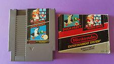 DUCK HUNT & SUPER MARIO BROS / jeu et notice Nintendo NES / PAL FRA FAH
