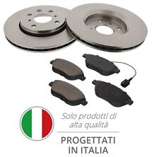 Kit 2 Dischi Freno + Pastiglie Fiat 500 (312) Panda (169) 1.3 D Multijet 70_75Cv