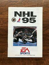 NHL 95 Hockey 1995 Sega Genesis Game Instruction Manual Only