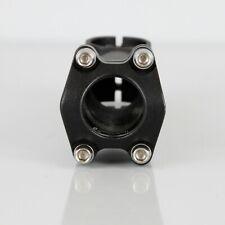 "Alloy Bicycle Riser Stem 110mm 25.4mm 1-1/8"" Matte Black (New take-off)"