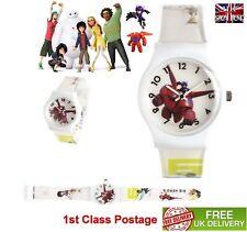 KID Bambini Quarzo Grande Giocattolo Hero 6 Wrist Watch Quadrante Bianco Analogico multic