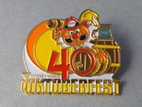 OKTOBERFEST KITCHENER WATERLOO 2009 40 ANNIVERSARY HAT VEST PIN COLLECTOR BUTTON