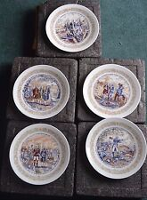 Vintage Limoges Collector Plates Lafayette Lot of 5 in box