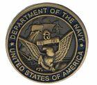 Внешний вид - USN Navy Department Hat or Lapel Pin Bronze Tone HON14534 F4D33N