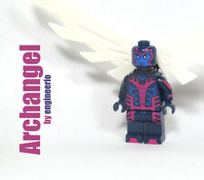 LEGO Custom - Archangel - Super heroes Marvel mini figure X-men wolverine