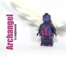 LEGO Custom - Archangel - Super heroes Marvel mini figure X-men wolverine