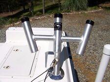 One Pair of Kite/Trident Rod Holders -Custom Rod holders-Byerly's Welding