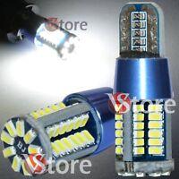 4 PZ Lampade T10 Canbus LED 57 SMD BIANCO Xenon Posizione W5 12V Potentissime!!