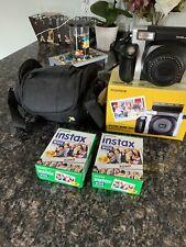 Fujifilm Instax Wide 300 Instant Film Camera - Black/Silver With Accessories