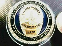 Rare Los Angeles Police Department Gold on Blue Blue Lives Matter Challenge Coin