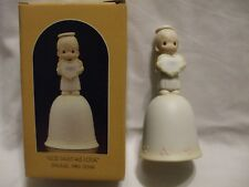 "Precious Moments ""God Sent His Love"" Bell Girl 1985 Special Issue Enesco"