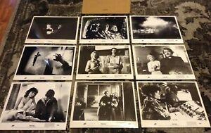 JOHN CARPENTER'S THE FOG SET OF 9 PHOTOS STILLS JAMIE LEE CURTIS HORROR J. LEIGH