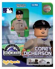 Corey Dickerson OYO Colorado Rockies MLB Mini Figure NEW G4
