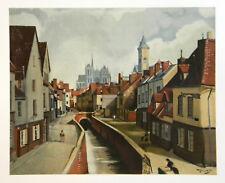 "Andre Derain ""Amiens"" lithograph"