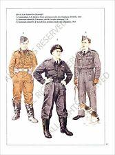PLANCHE UNIFORMS PRINT WWII UNITED KINGDOM Pilot Royal Air Force RAF TYPHOON