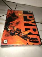Pyro Technica Pyrotechnica Vintage 1995 PC Computer Game CD ROM factory Sealed