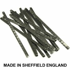 "60 Junior Hacksaw Blades for Metal 150mm / 6"" Made in Sheffield England"