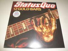 Status Quo 12 Gold Bars -greatest Hits LP Golden Vinyl