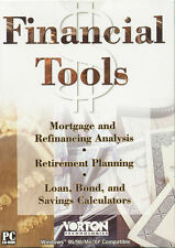 FINANCIAL TOOLS - Mortgage Finance Analysis Software, Loans, etc - NEW in BOX!