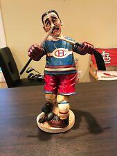 Montreal Canadiens PETER MOOK Sculpture Art Ice Hockey Jersey RARE Vintage Piece