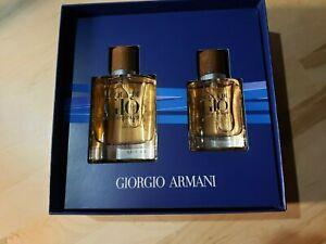Acqua Di Giò Absolu Eau de Parfum Spray Gift Set 2.5oz and 1.35oz $173 Value NIB