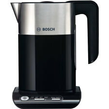 Bosch TWK8633GB Styline Kettle with Temperature Selector Limescale Filter 3000