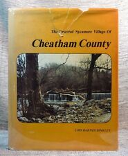 Deserted Sycamore Village Cheatham Co. Binkley Signed Limited Edition #243/1000