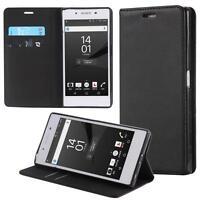 Funda-s Carcasa-s para Sony Xperia Z5 Compact Libro Wallet Case-s bolsa Cover Ne