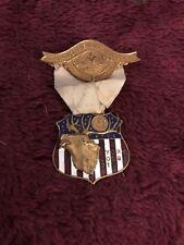 Grand Reunion 1907 Philidelphia York Lodge 213 Elk Lodge Medal